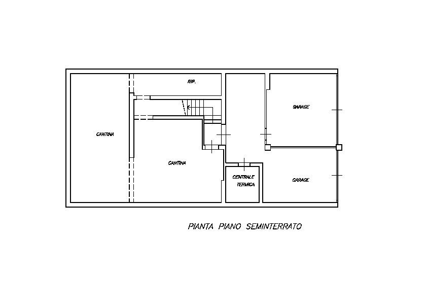 Planimetria 3/4 per rif. FO106