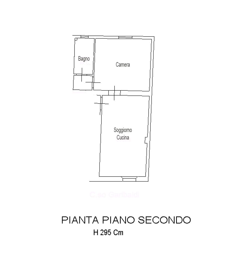 Planimetria 1/1 per rif. AF010
