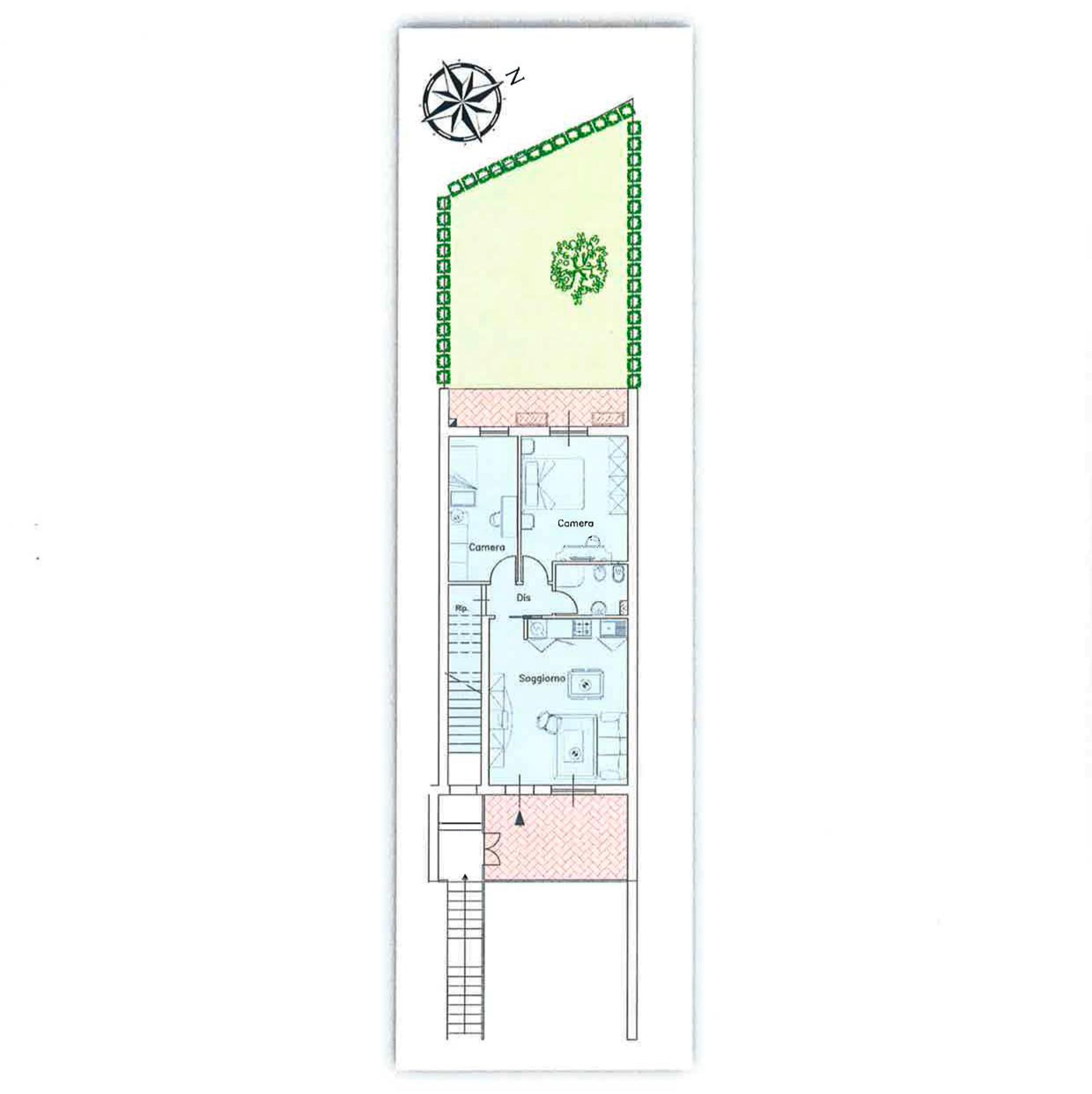 Planimetria 1/2 per rif. CA010