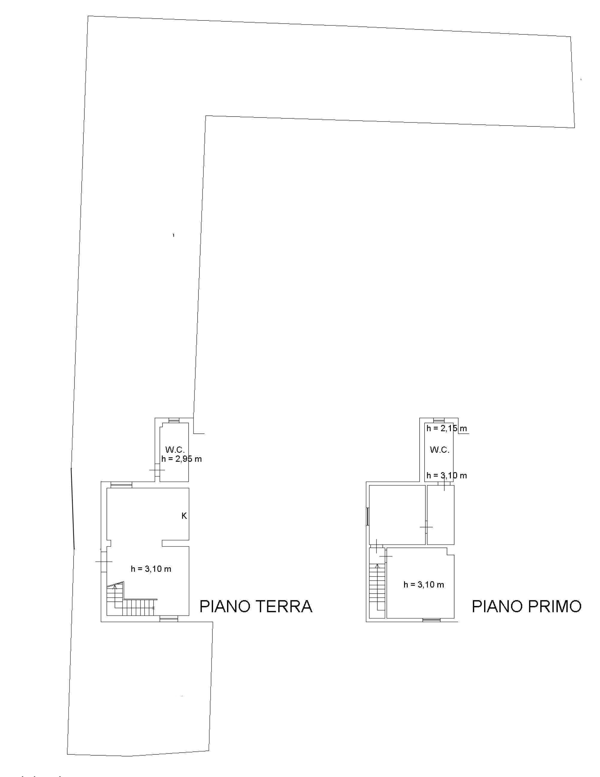 Planimetria 1/1 per rif. CA008