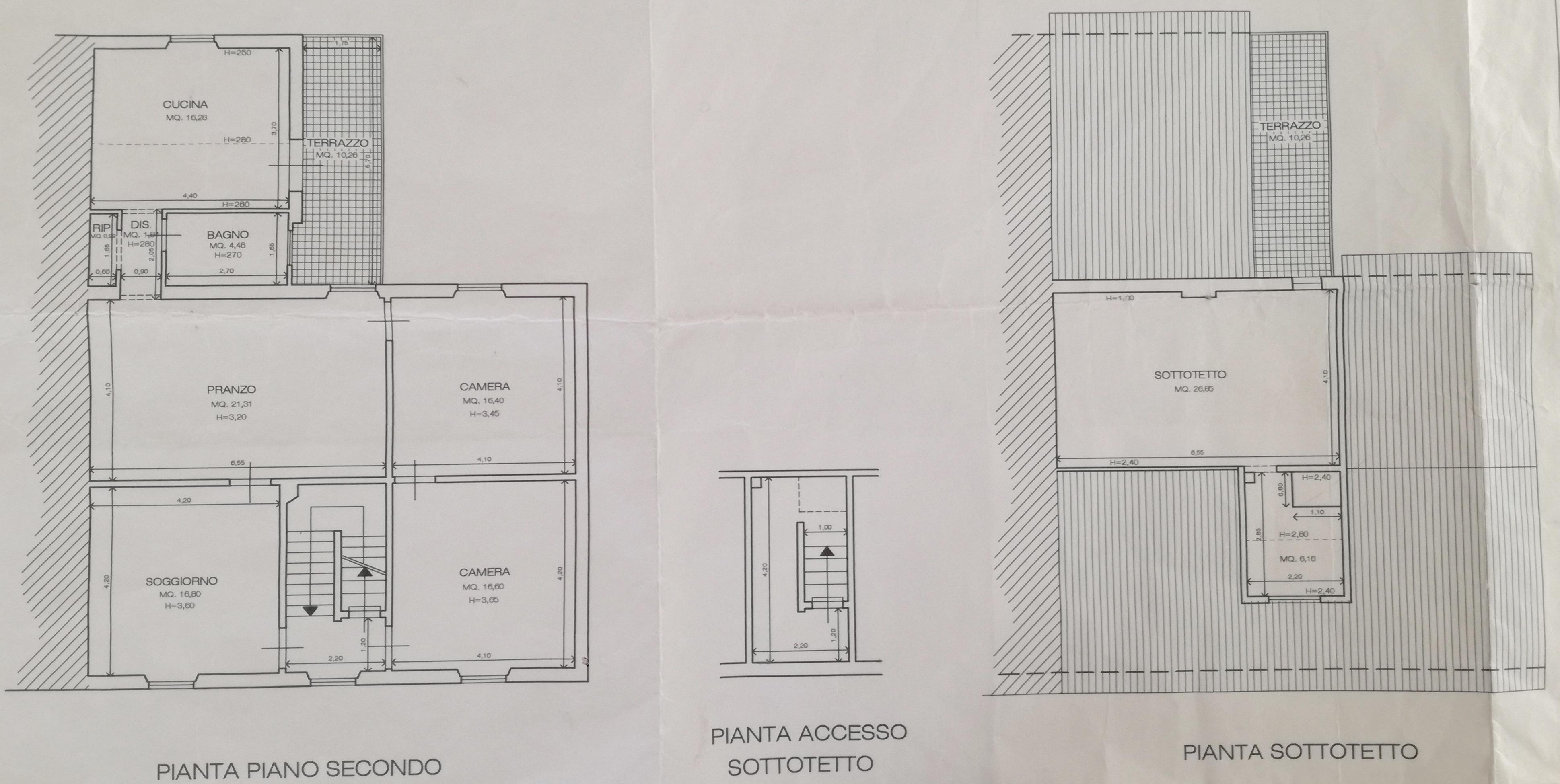 Planimetria 1/1 per rif. PO109