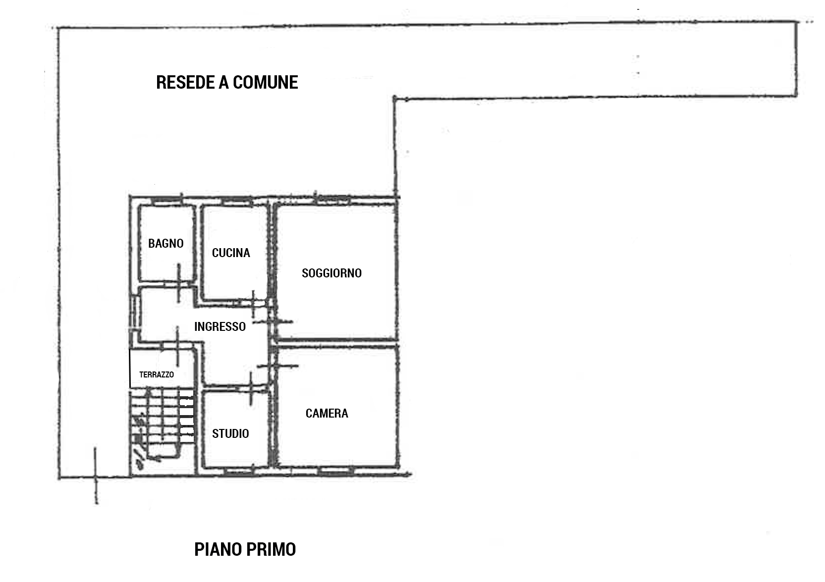 Planimetria 1/1 per rif. PA003
