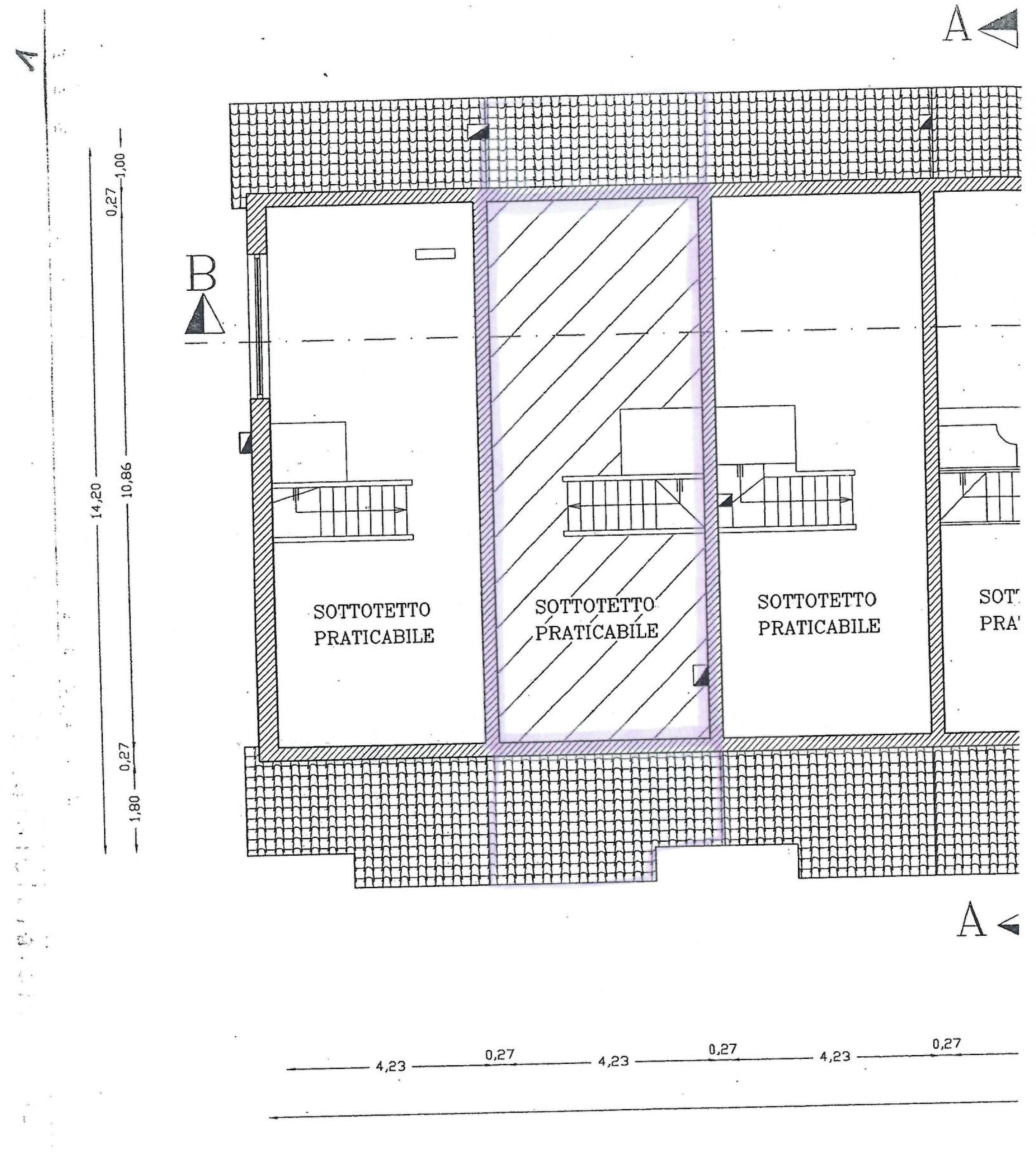 Planimetria 3/4 per rif. TE127