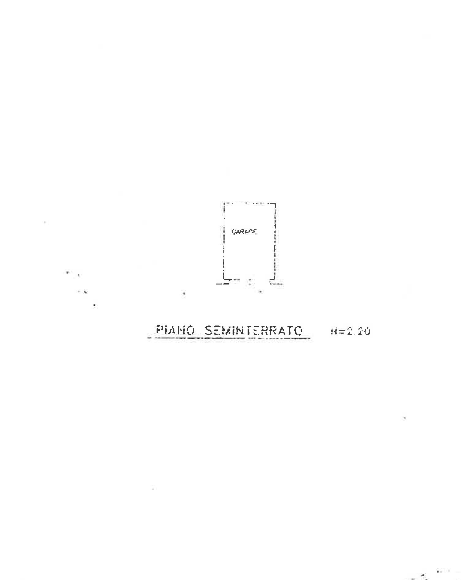 Planimetria 2/2 per rif. NV101