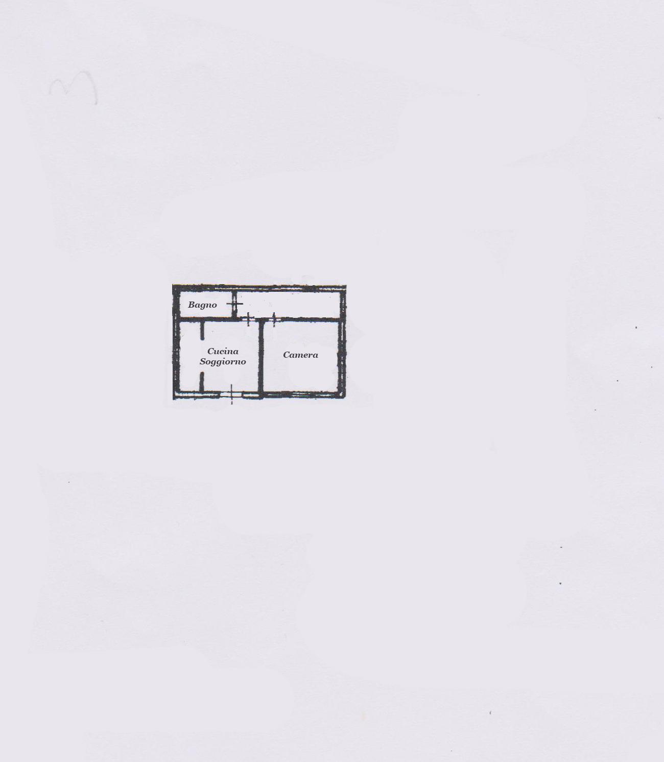 Planimetria 2/3 per rif. FO889