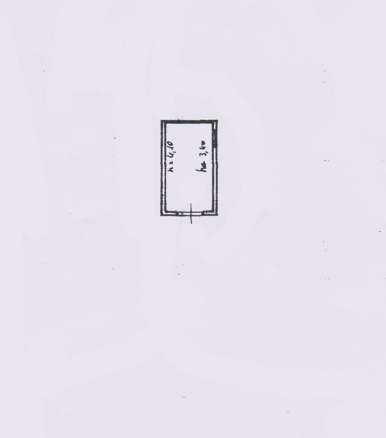 Planimetria 3/3 per rif. FO889