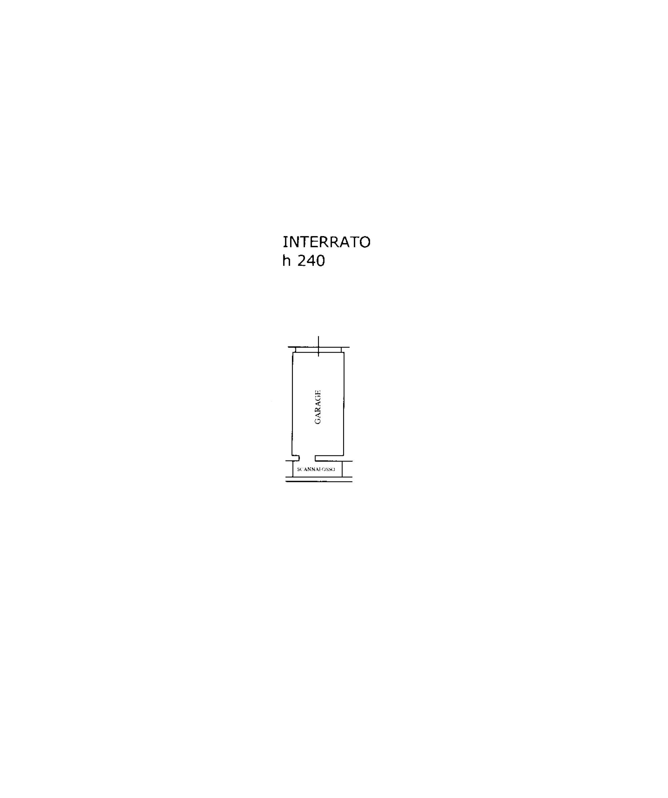 Planimetria 2/2 per rif. TE101