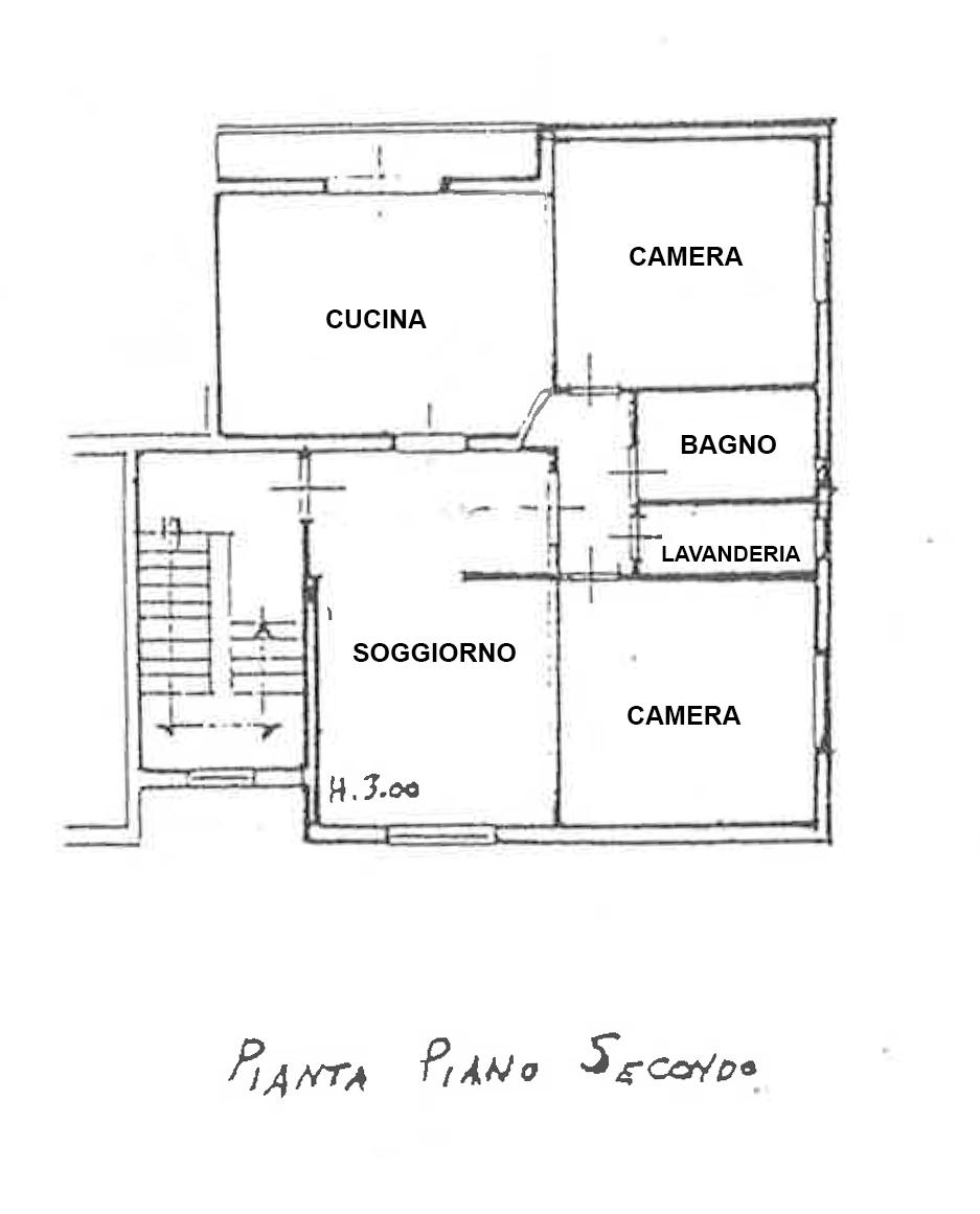Planimetria 1/2 per rif. CA002