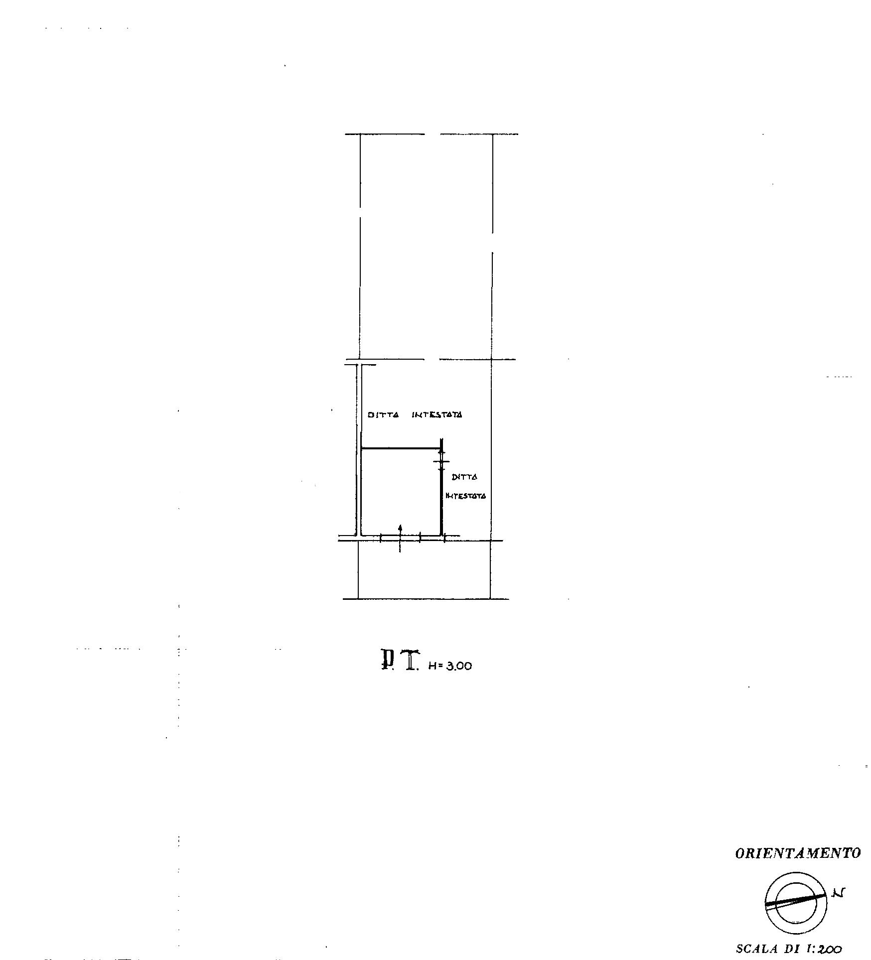 Planimetria 2/3 per rif. PO117