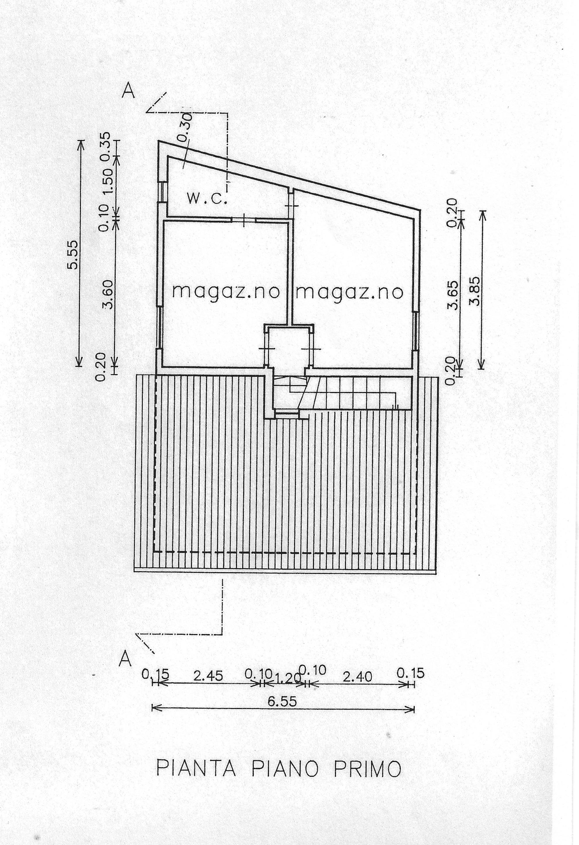 Planimetria 2/2 per rif. FO019