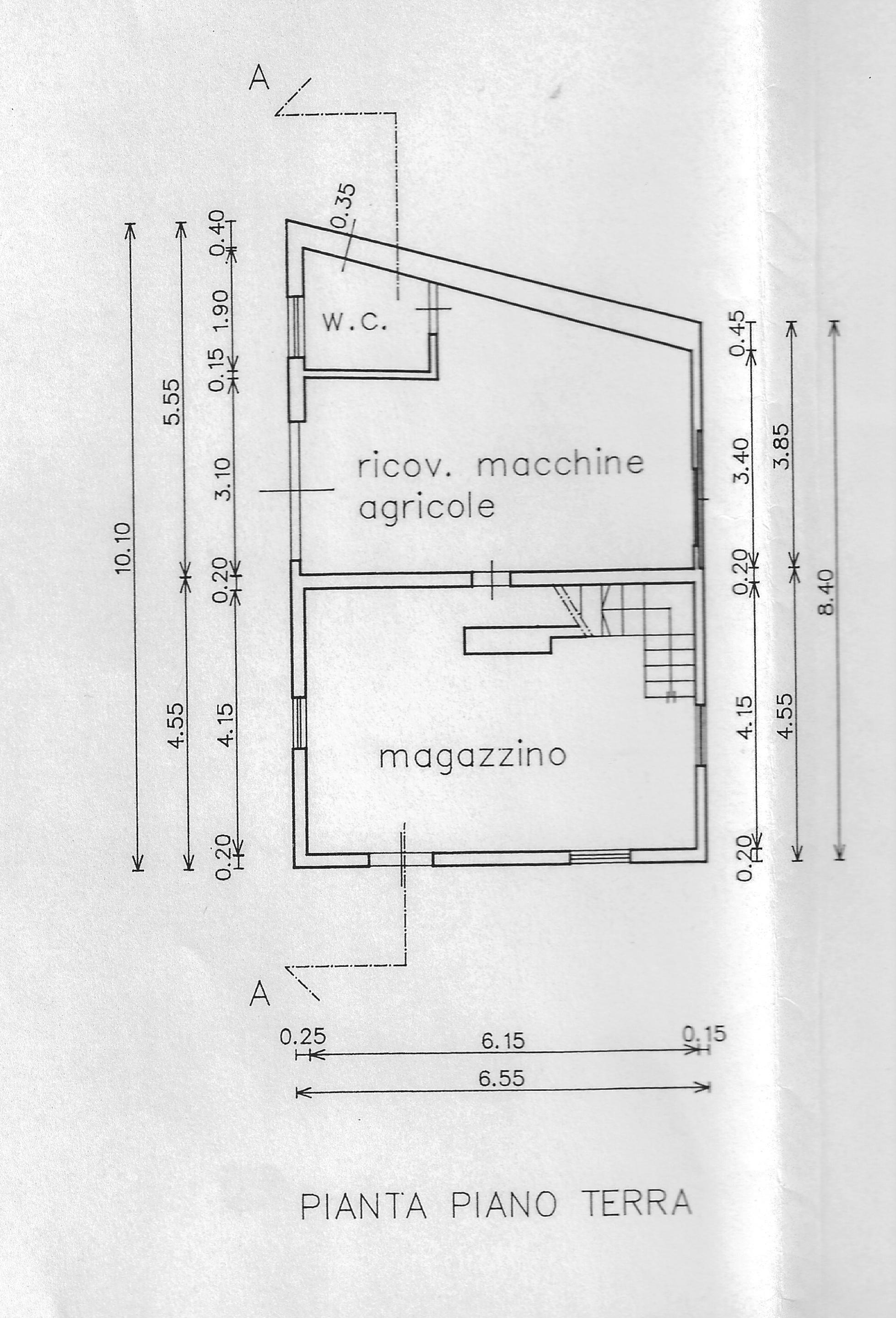 Planimetria 1/2 per rif. FO019