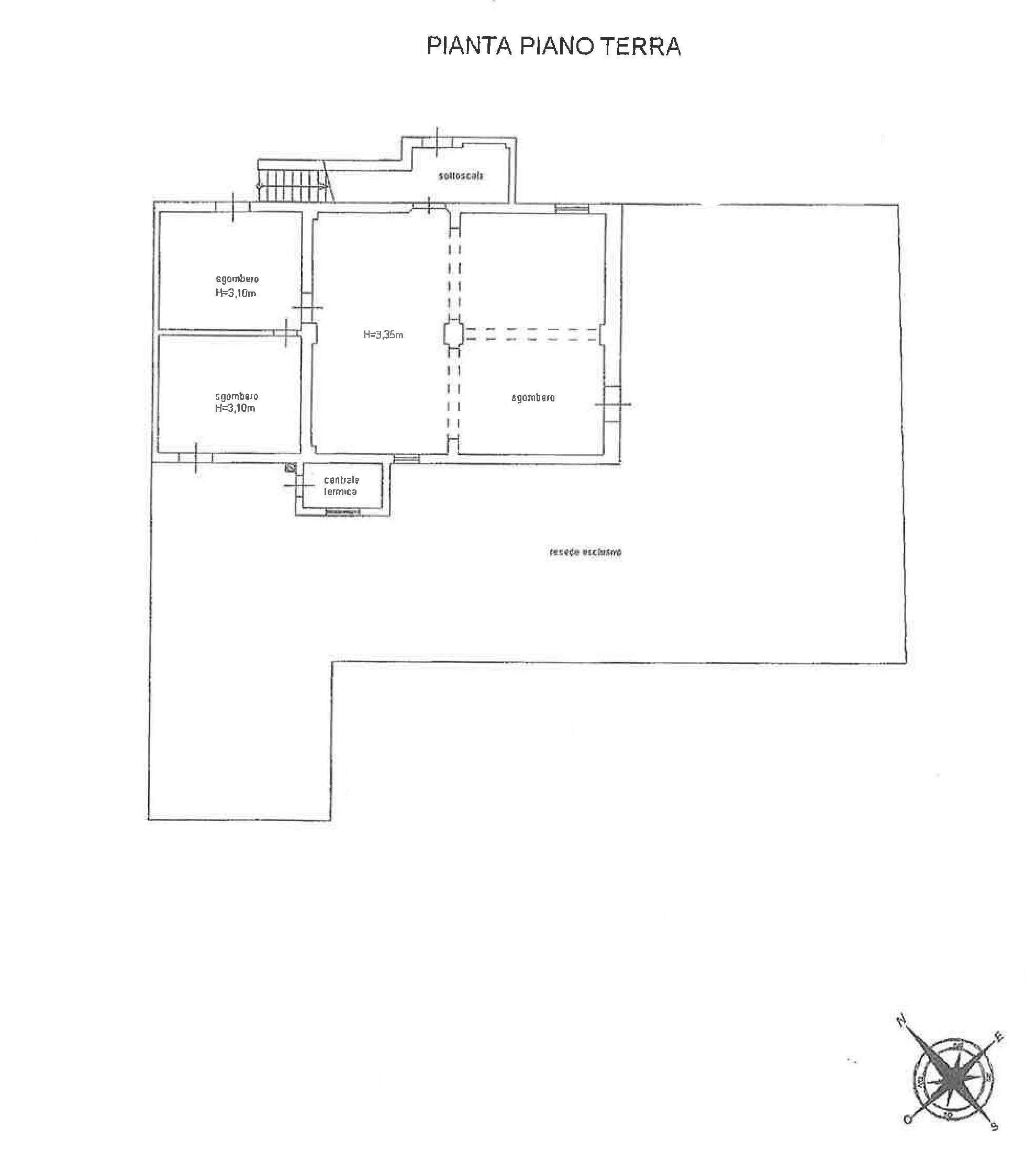 Planimetria 1/2 per rif. TR003
