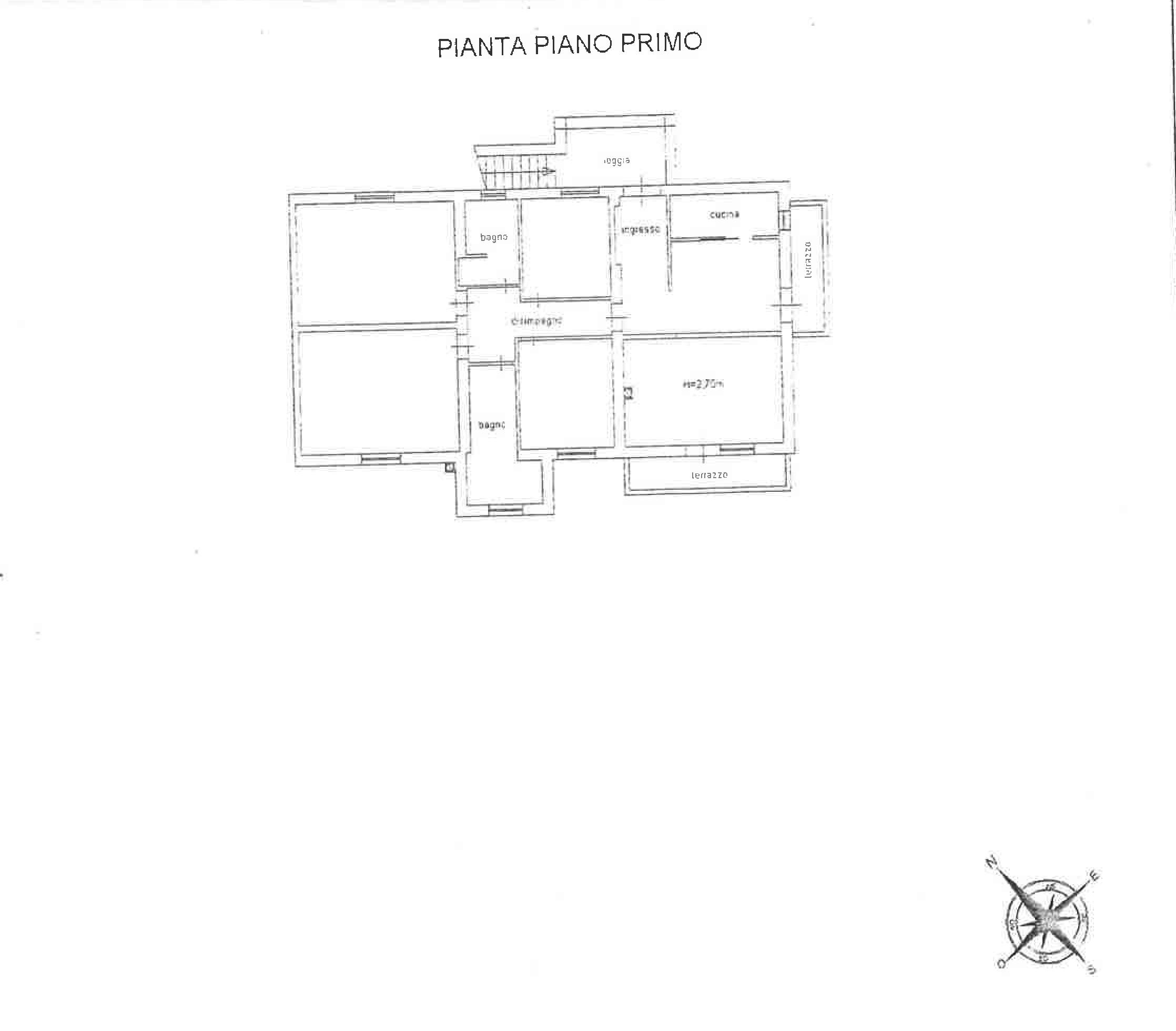 Planimetria 2/2 per rif. TR003