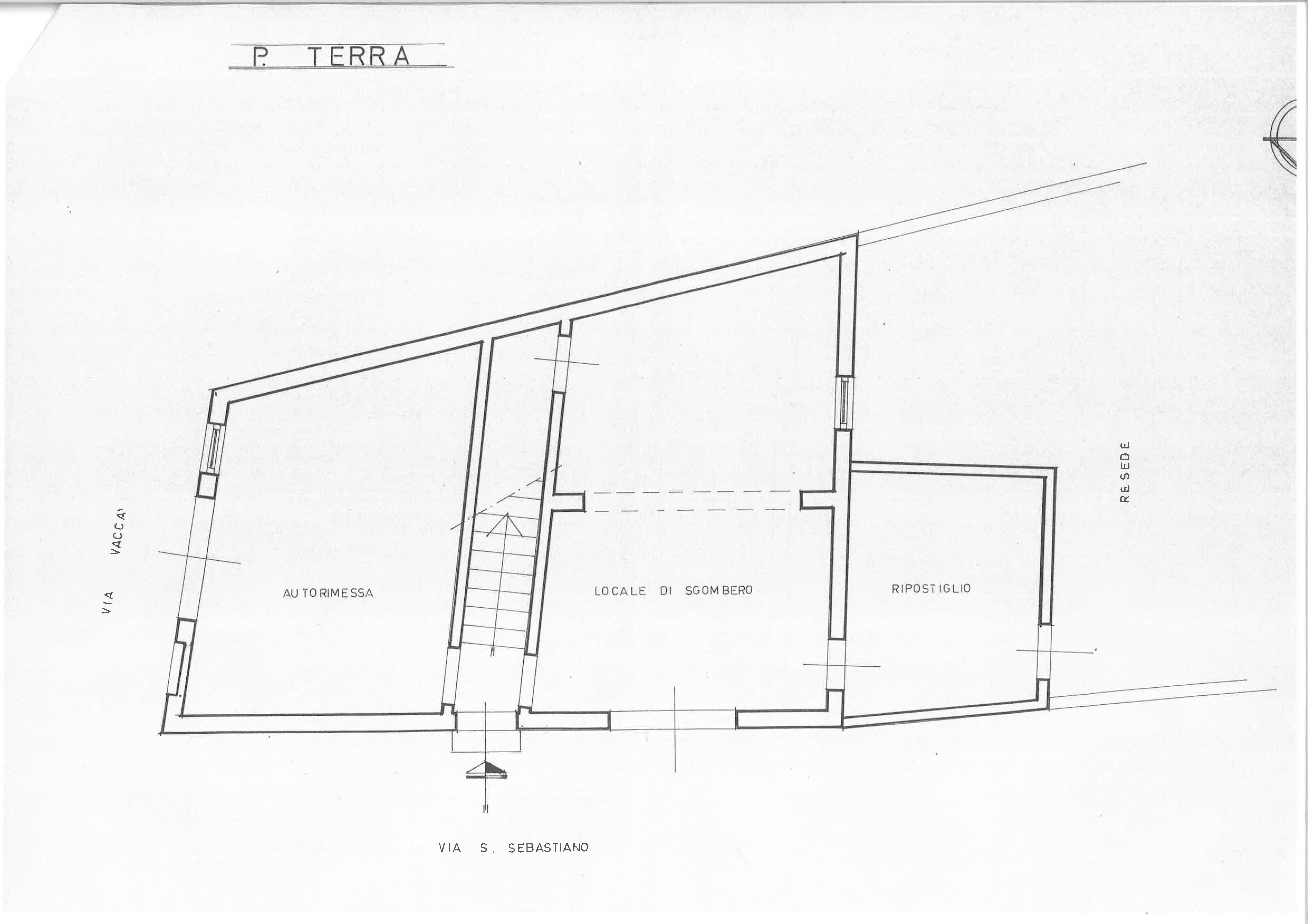 Planimetria 1/2 per rif. PA087