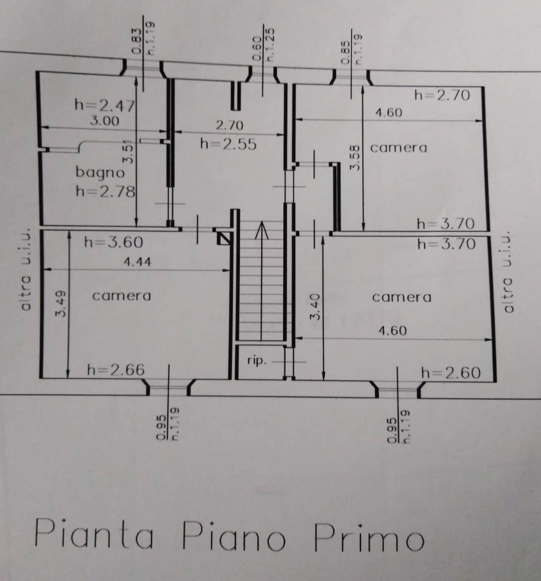 Planimetria 2/2 per rif. GE101