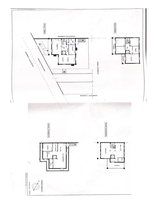 Planimetria 1/1 per rif. ger1