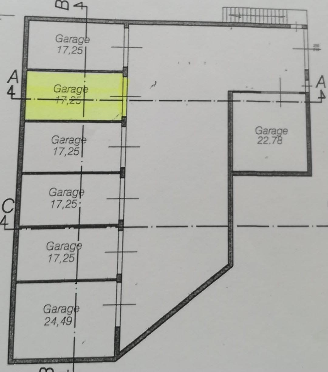 Planimetria 5/5 per rif. vs100