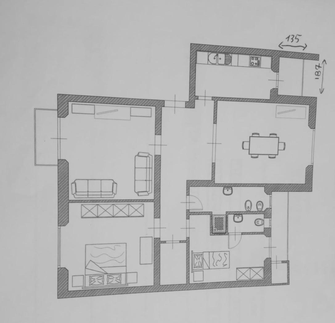 Planimetria 1/1 per rif. affr111