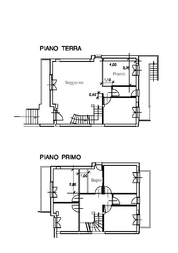 Planimetria 2/2 per rif. vg104