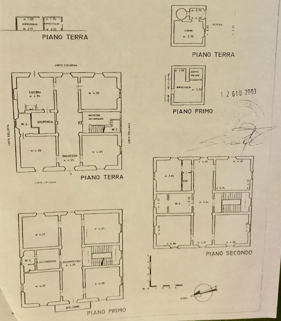Planimetria 1/1 per rif. VIG999