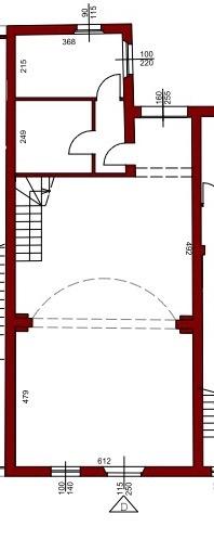Planimetria 3/4 per rif. 12016