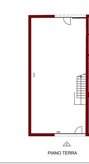 Planimetria 1/4 per rif. 12012