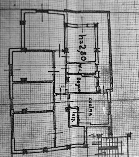 Planimetria 1/1 per rif. 1114cv