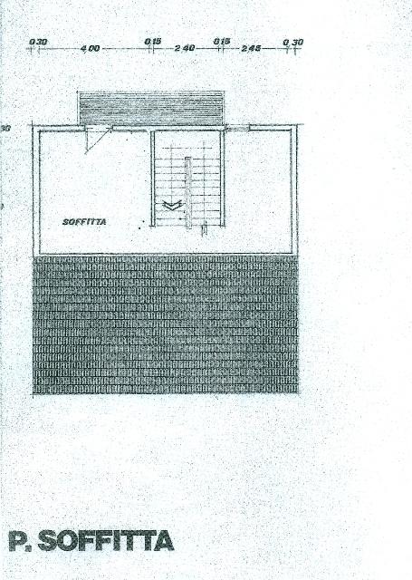 Planimetria 1/3 per rif. 1639