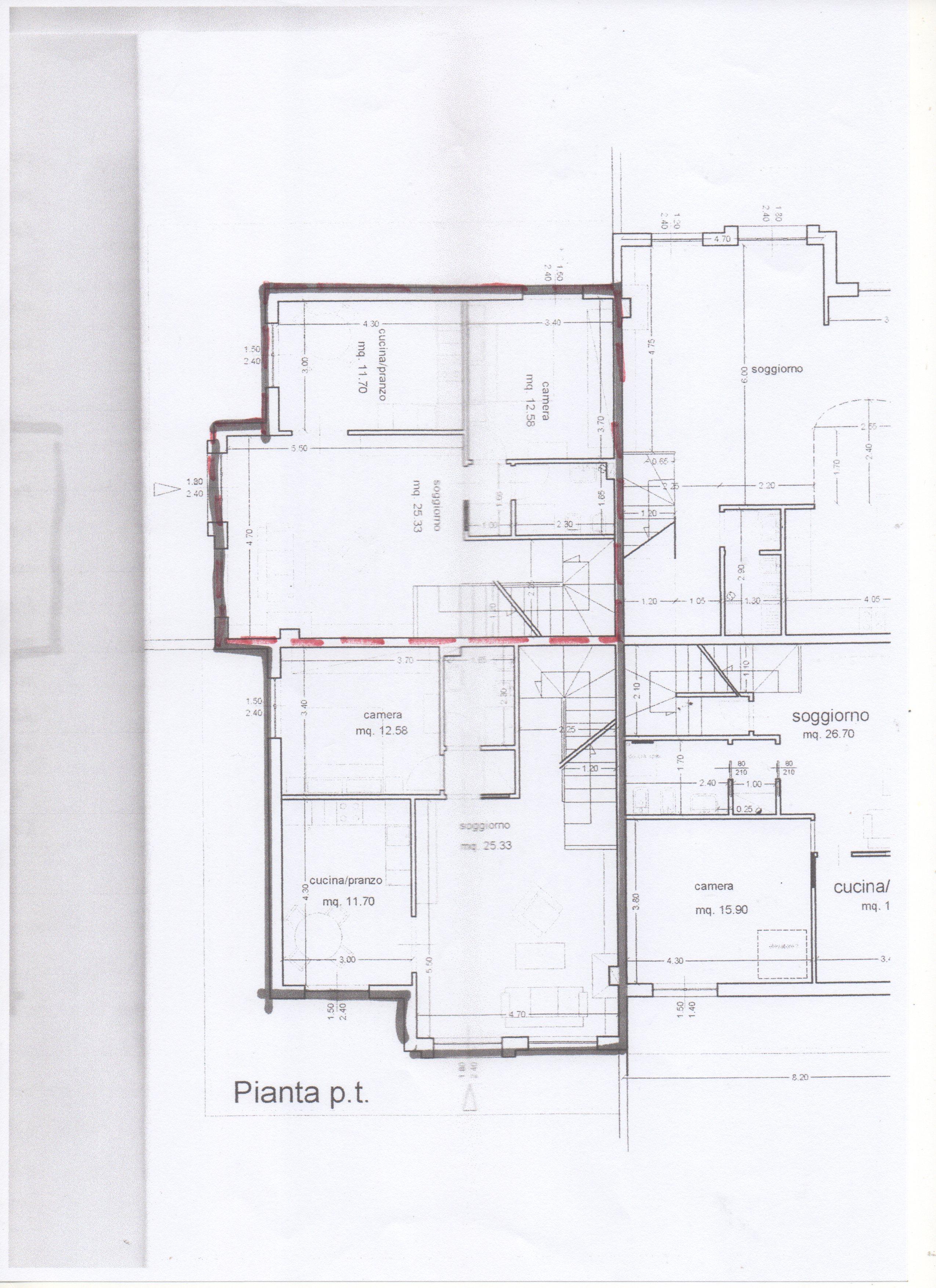 Planimetria 2/2 per rif. 539