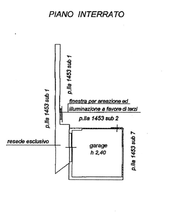 Planimetria 2/2 per rif. 1282