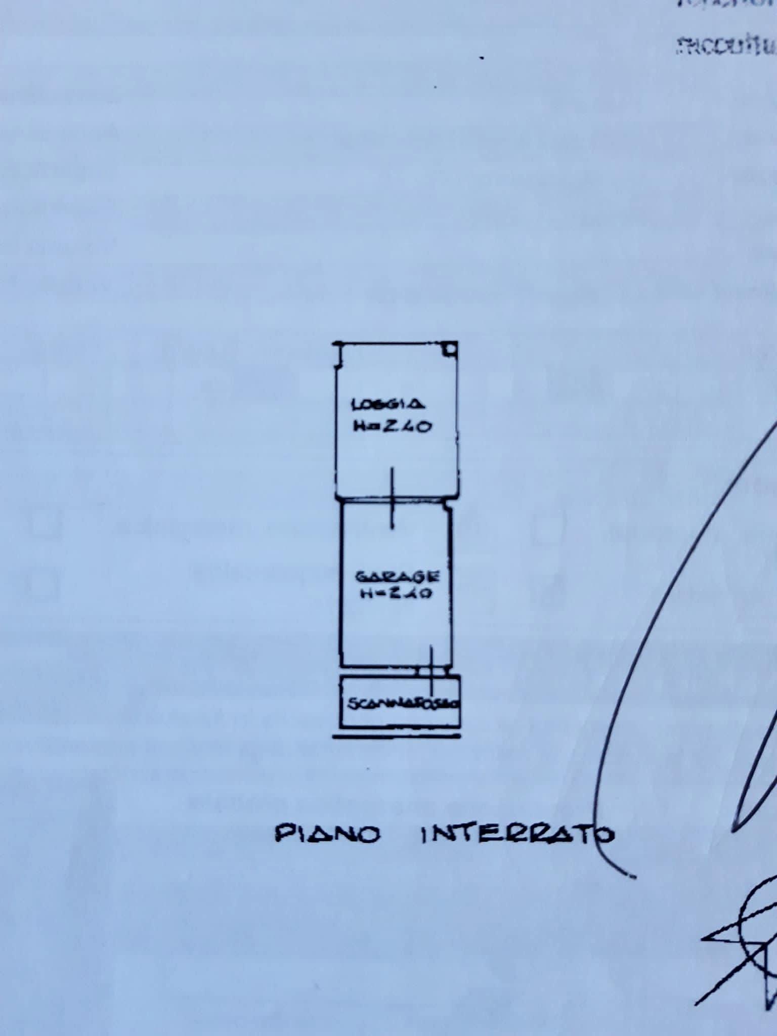 Planimetria 1/3 per rif. 1284