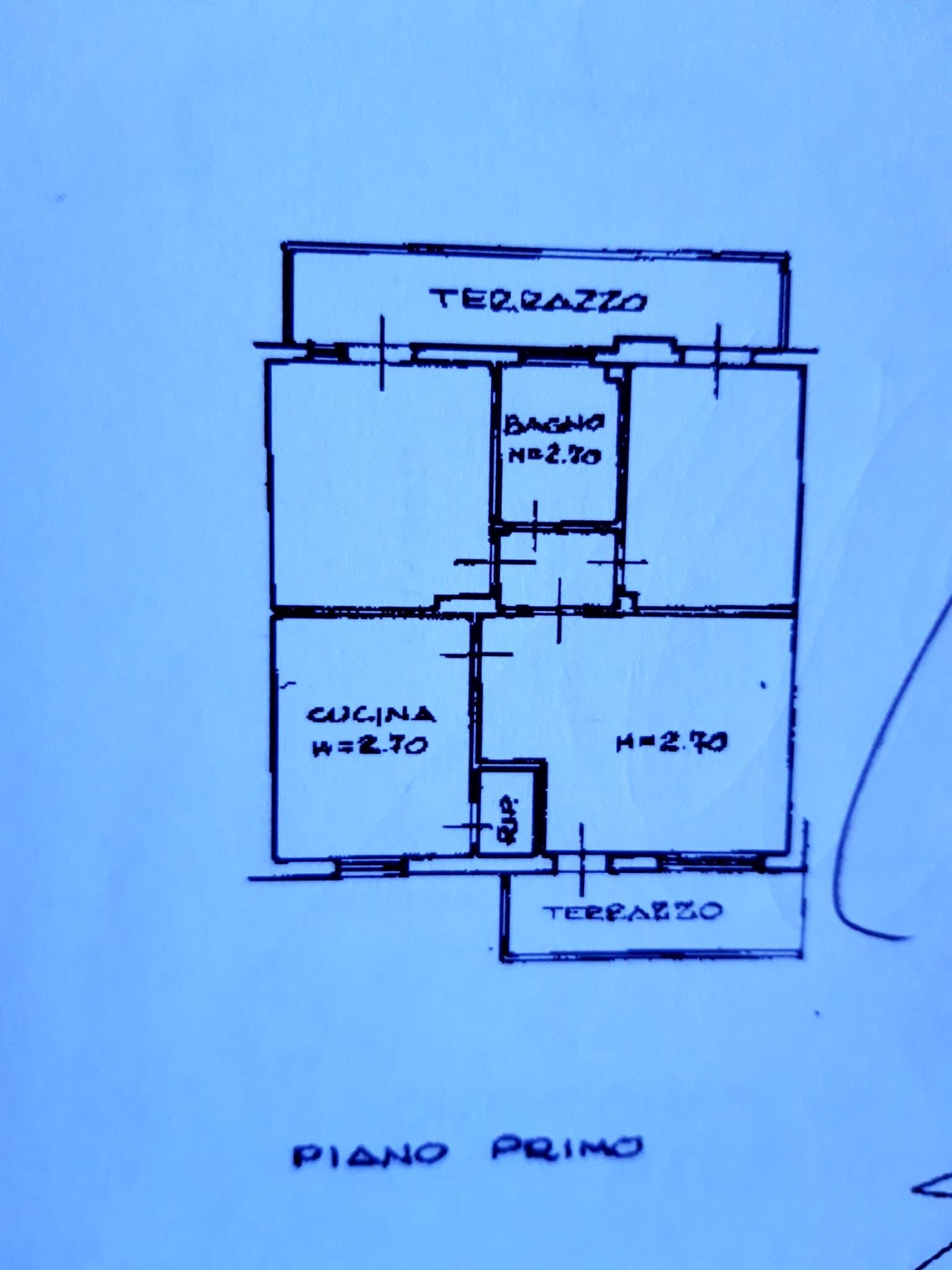 Planimetria 2/3 per rif. 1284