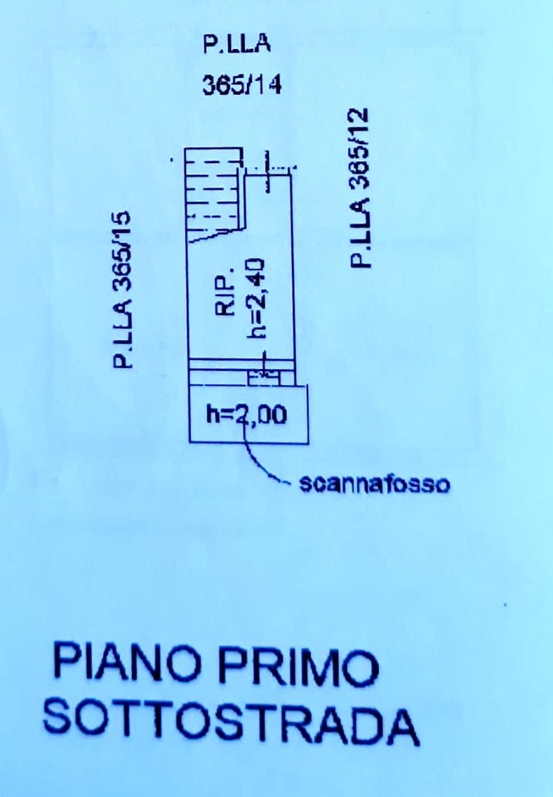 Planimetria 3/3 per rif. 1284