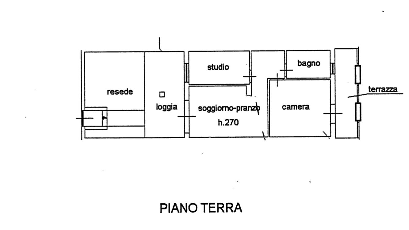 Planimetria 1/1 per rif. 1112