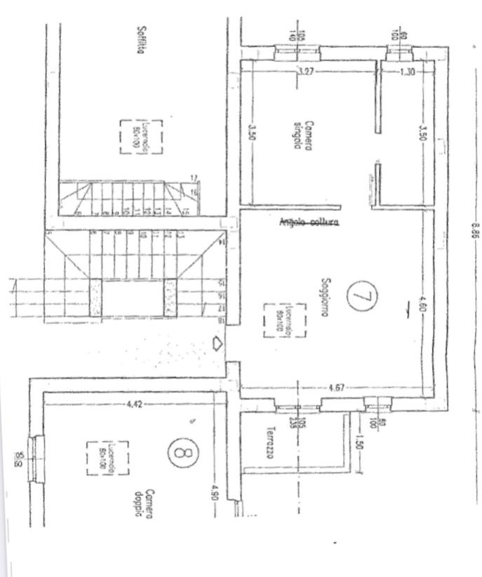 Planimetria 1/2 per rif. 1245