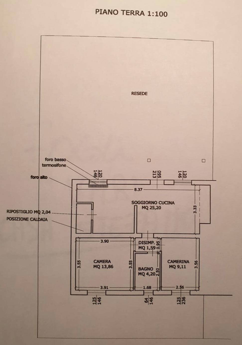 Planimetria 1/1 per rif. 1266