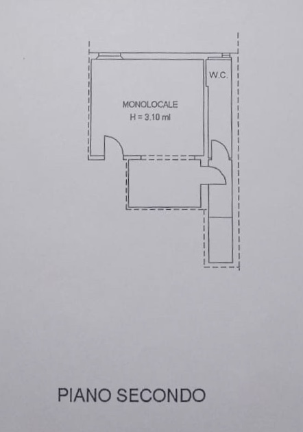 Planimetria 1/1 per rif. 1268