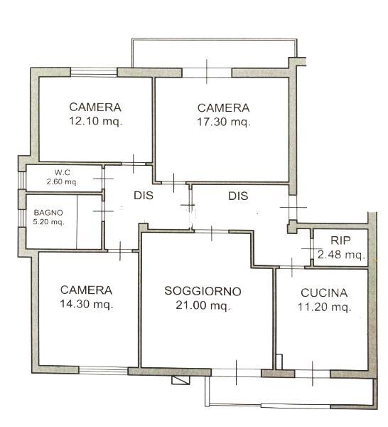 Planimetria 1/1 per rif. 1271