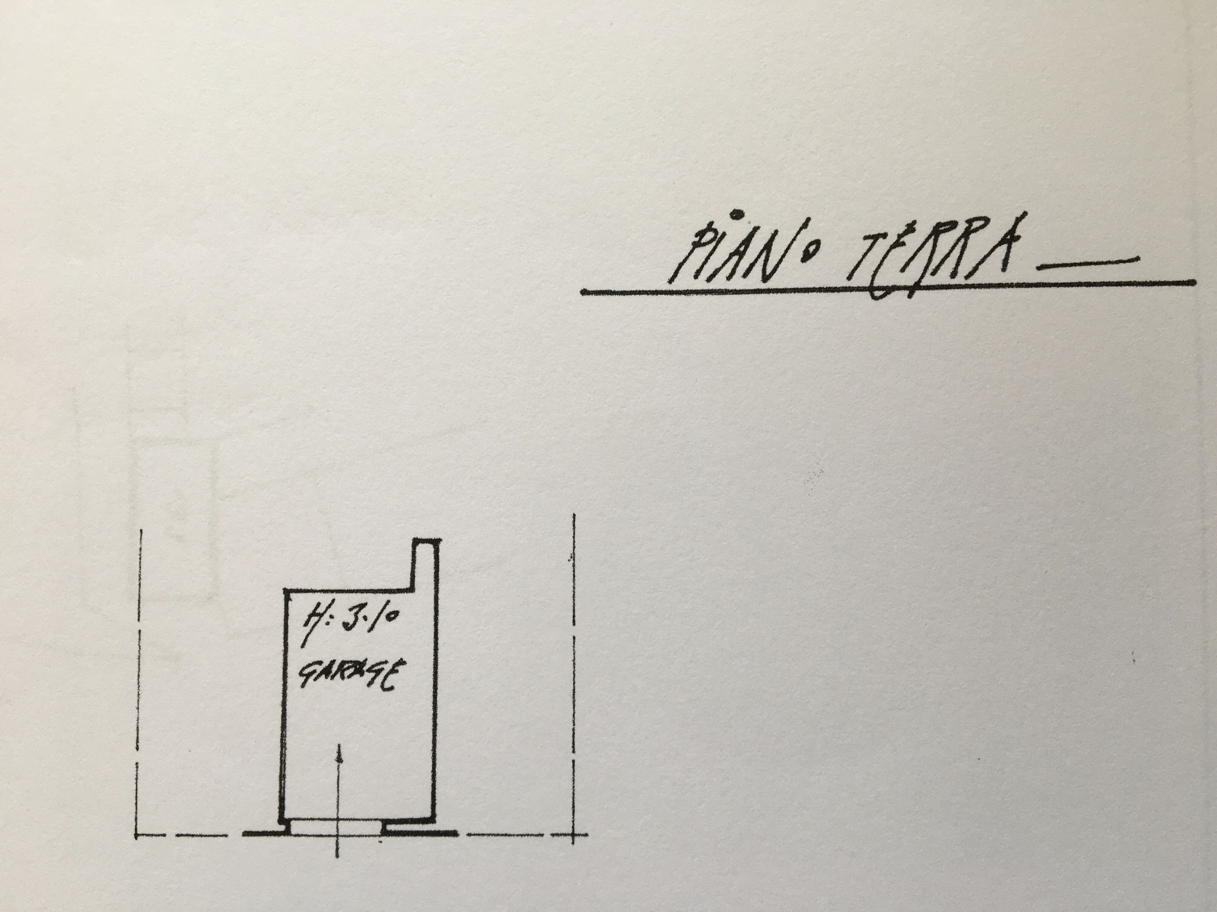 Planimetria 2/2 per rif. 1274