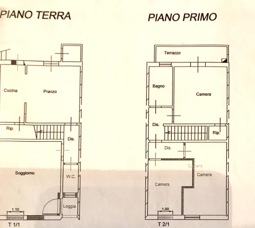 Planimetria 1/1 per rif. 1276