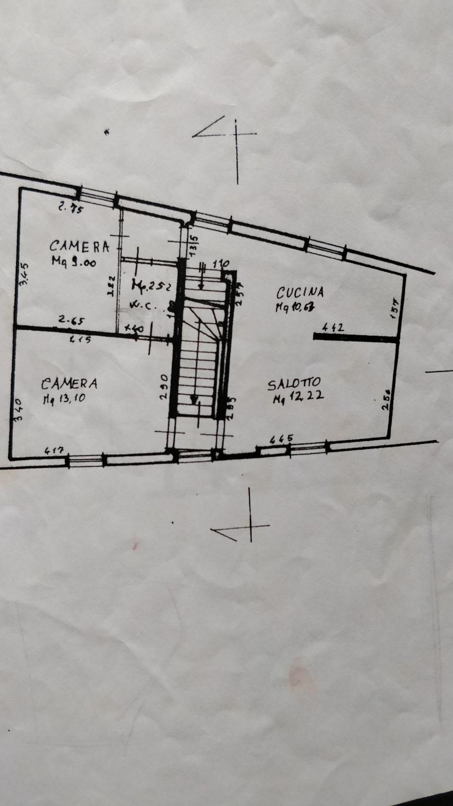 Planimetria 1/2 per rif. 297