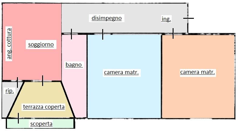 Planimetria 1/1 per rif. 320