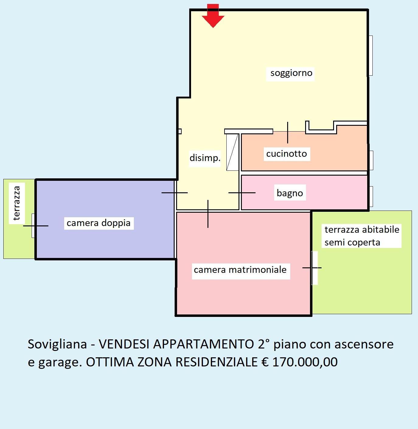 Planimetria 1/1 per rif. 322