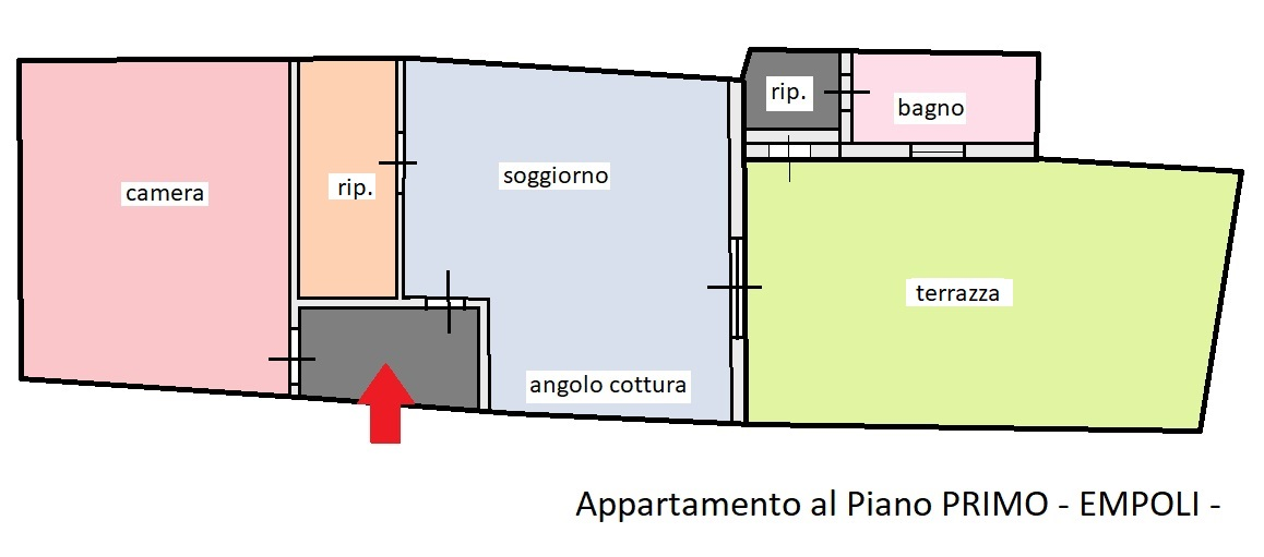 Planimetria 1/1 per rif. 323