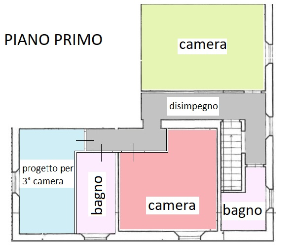 Planimetria 2/2 per rif. 318