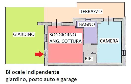 Planimetria 1/2 per rif. 336