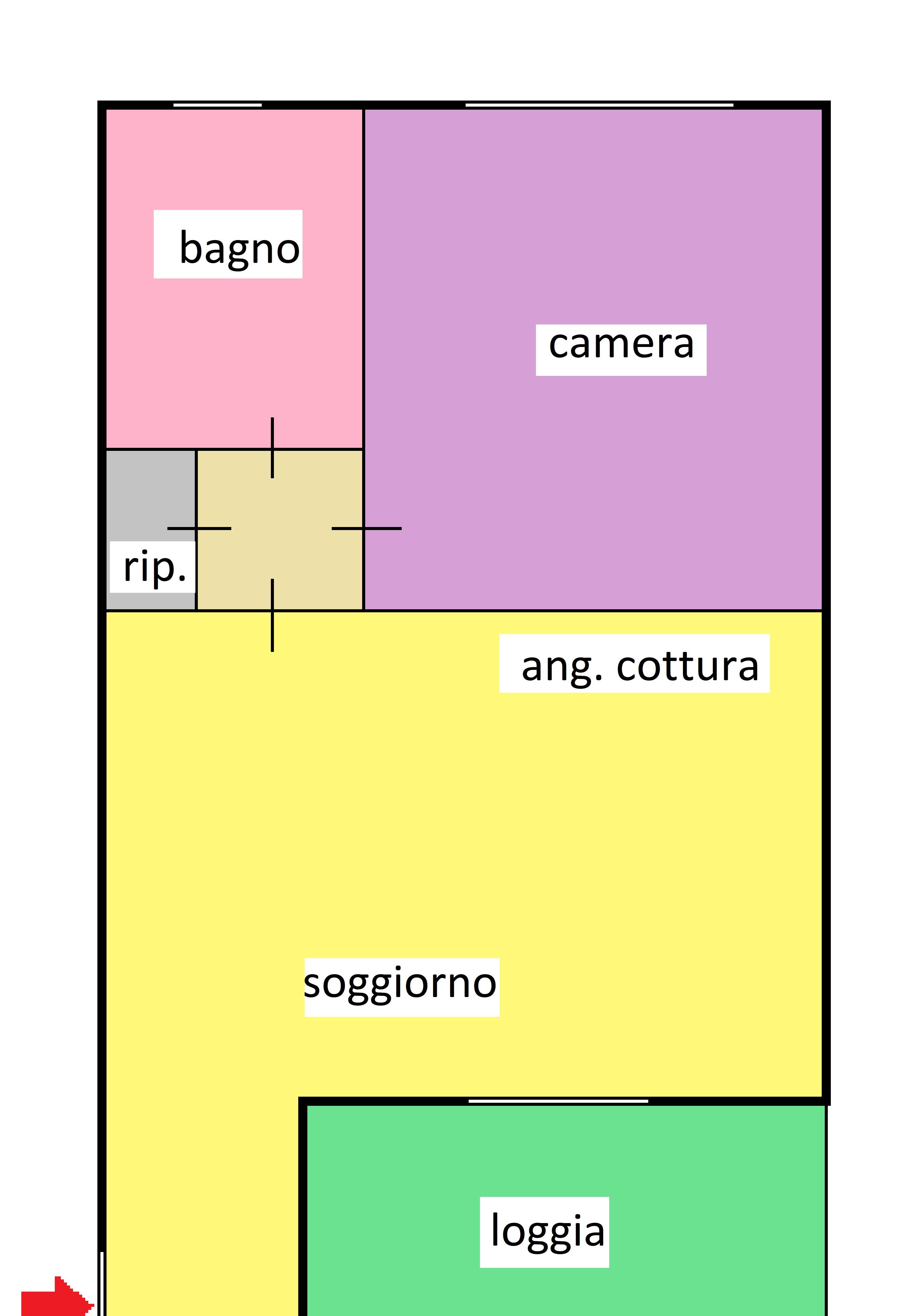 Planimetria 1/1 per rif. 342
