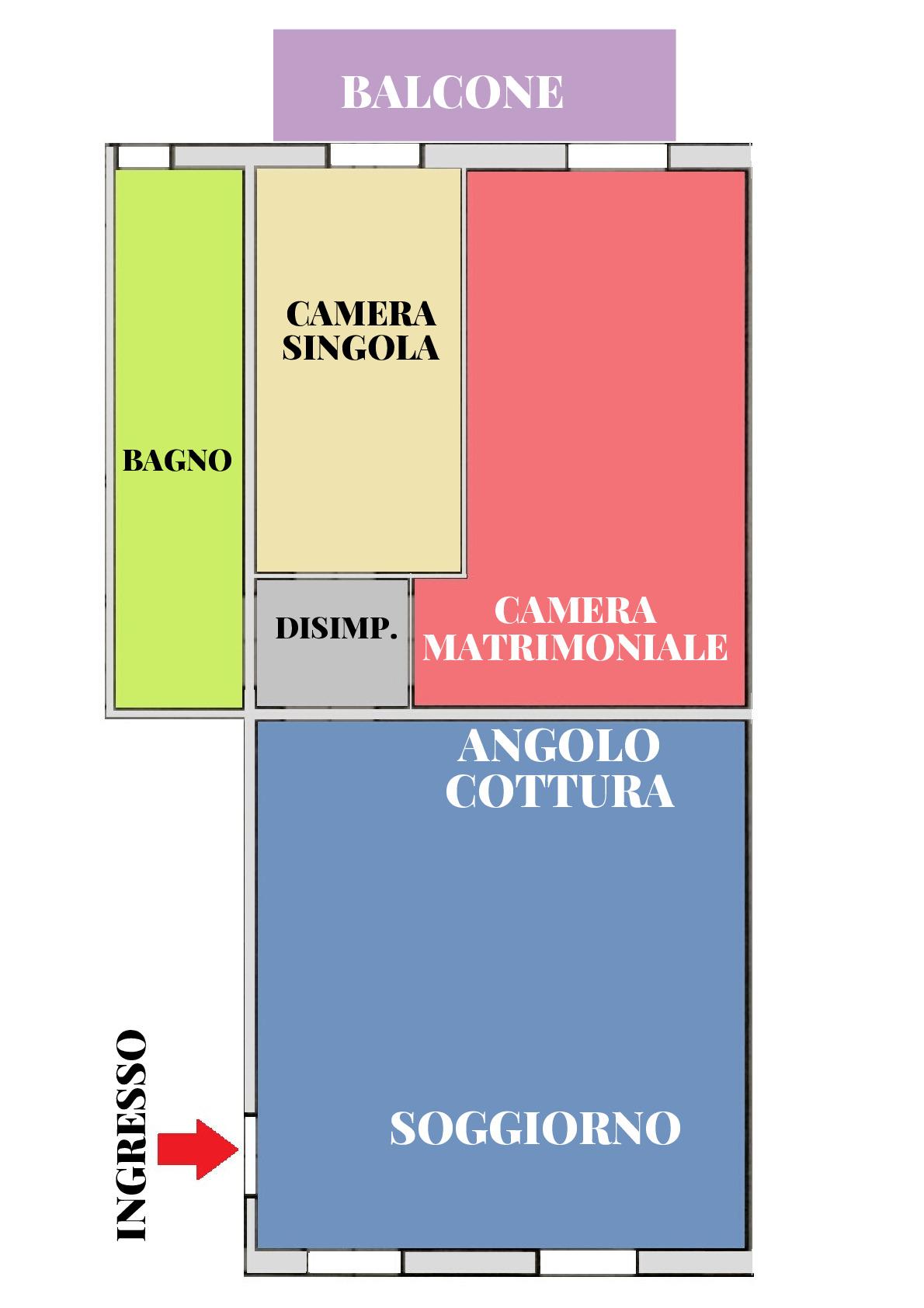 Planimetria 1/1 per rif. 409