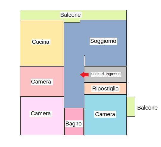 Planimetria 1/1 per rif. 431