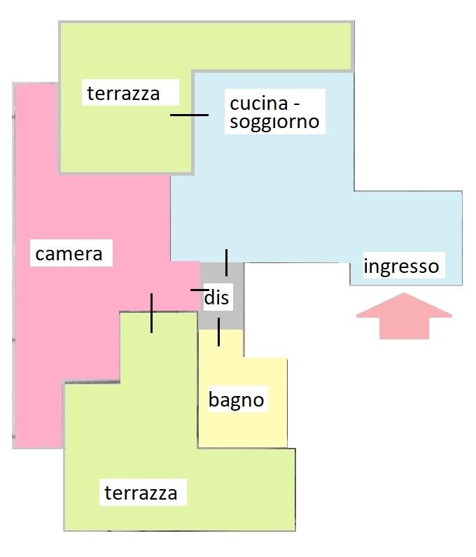 Planimetria 1/1 per rif. 462/A